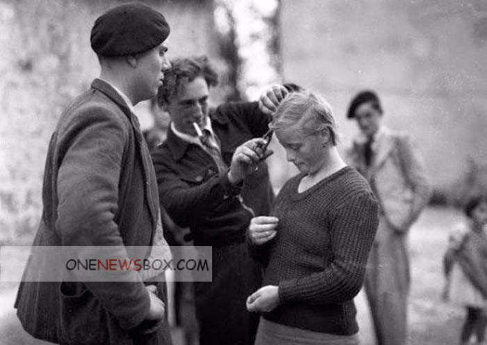 Pictures of Nazi Collaborator Girls in World War II - Page