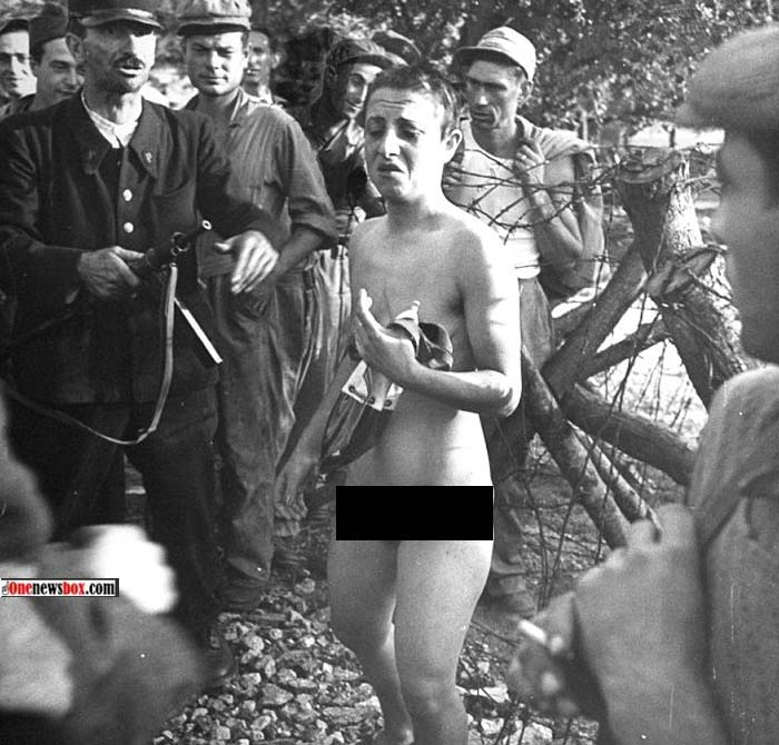 голые женщины в концлагере фото